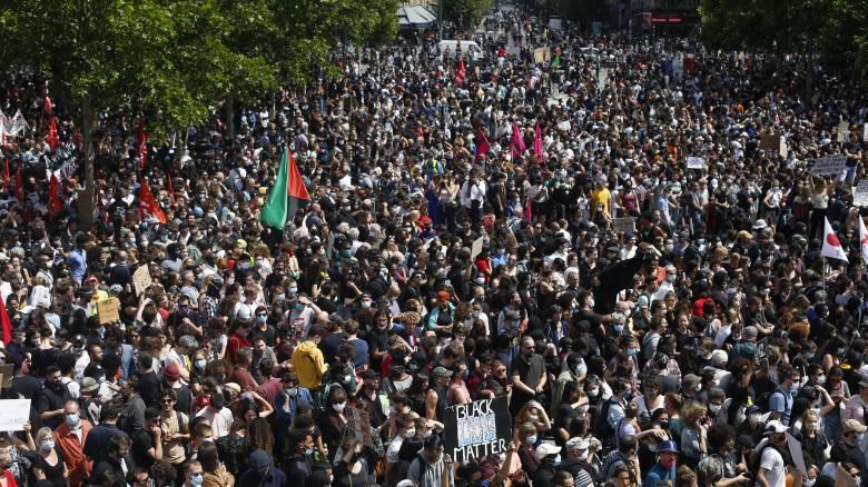 Γαλλία: Χιλιάδες διαδηλωτές ενάντια στην αστυνομική βία και τον ρατσισμό