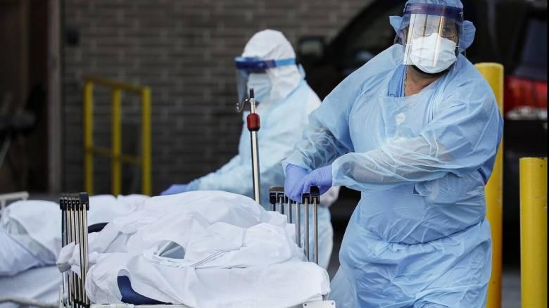 Κορωνοϊός - ΗΠΑ: Πάνω από 700 νεκροί εξαιτίας της COVID-19 σε 24 ώρες