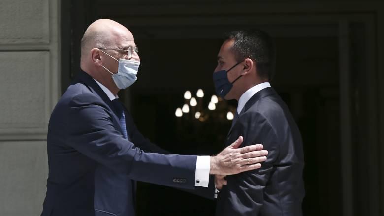 Δένδιας: Υποδειγματική η συμφωνία μεταξύ Ελλάδας και Ιταλίας
