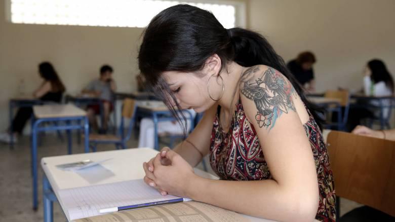 Πανελλήνιες εξετάσεις 2020: «Πρεμιέρα» με Νεοελληνική Γλώσσα και Λογοτεχνία