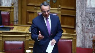 Σταϊκούρας: Με τα σημερινά υγειονομικά δεδομένα η χώρα δεν θα αντιμετωπίσει ταμειακό πρόβλημα