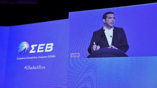 Σοσιαλδημοκρατικό «μανιφέστο» Τσίπρα στη συνέλευση του ΣΕΒ