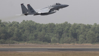 Αμερικανικό μαχητικό F-15 κατέπεσε στη Βόρεια Θάλασσα - Νεκρός ο πιλότος