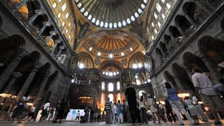 Ημερομηνία για τη λειτουργία της Αγίας Σοφίας ως τζαμί δίνει το κόμμα του Ερντογάν