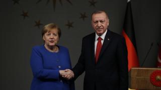 Μέρκελ - Ερντογάν: H διαδικασία του ΟΗΕ για τη Λιβύη πρέπει να ενισχυθεί