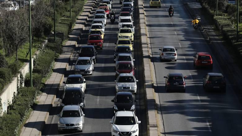 Κυκλοφοριακά προβλήματα σε όλες τις κεντρικές αρτηρίες της πρωτεύουσας