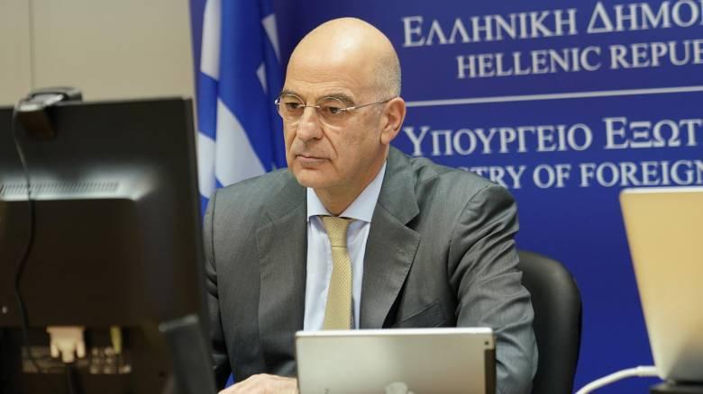 Δένδιας: Κοινή αντίληψη Ελλάδας και Αιγύπτου να γίνει η Μεσόγειος θάλασσα ειρήνης