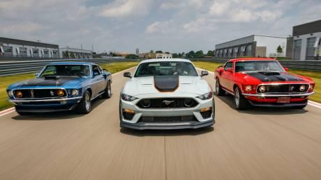 Αυτοκίνητο: H θρυλική ονομασία Mach 1 επιστρέφει στη γκάμα της Ford Mustang με 480 ίππους