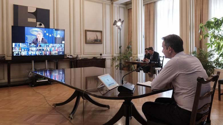 Μητσοτάκης: Στηρίζουμε την πρόταση της Κομισιόν για το Ταμείο Ανάκαμψης