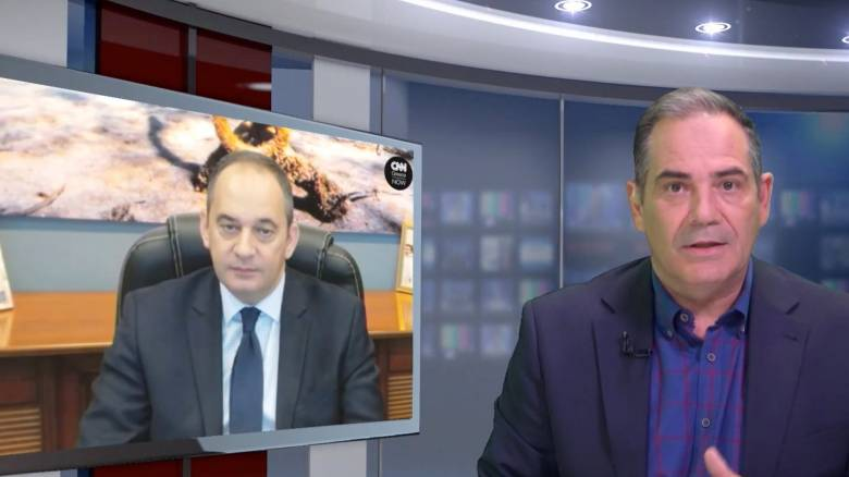 O Γ. Πλακιωτάκης στο CNN Greece: Ραντάρ και θερμικές κάμερες σε όλα τα θαλάσσια σύνορα