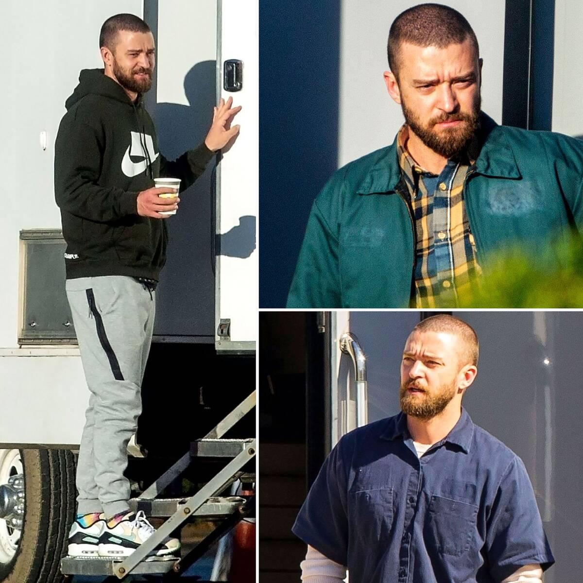 Justin Timberlake στο set του Palmer