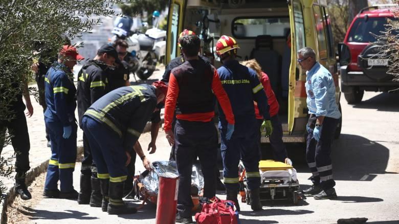 Κορωπί: Δύο άνδρες έπεσαν σε πηγάδι - Ανασύρθηκε χωρίς τις αισθήσεις του ο ένας
