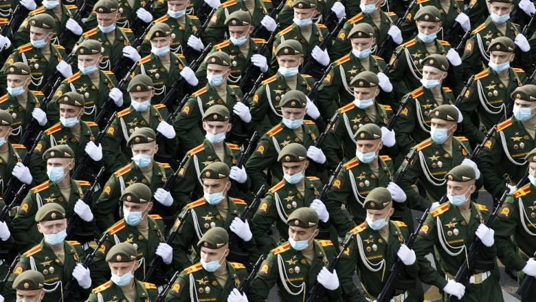 Κορωνοϊός - Ρωσία: Παρέλαση... κρουσμάτων λίγο πριν την μεγάλη παρέλαση για την «Ημέρα της Νίκης»