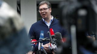 Εκλογές Σερβία: Θρίαμβο Βούτσιτς και τρικομματική βουλή δείχνουν οι εκτιμήσεις