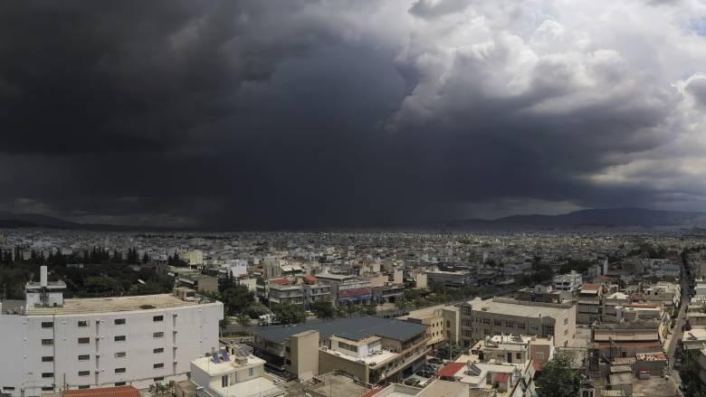 Καιρός: Αυτές τις περιοχές θα «σαρώσει» η κακοκαιρία τις επόμενες ώρες