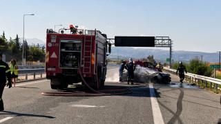 Τροχαίο δυστύχημα στην Αθηνών - Λαμίας με νεκρό και τραυματία