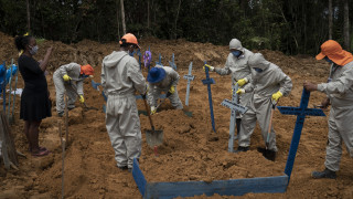 Βραζιλία: Ξεπέρασαν τους 50.000 οι νεκροί λόγω του κορωνοϊού