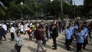 Σεισμός Μεξικό: Οι πρώτες εικόνες μετά τη δόνηση - Εκατοντάδες άτομα στους δρόμους