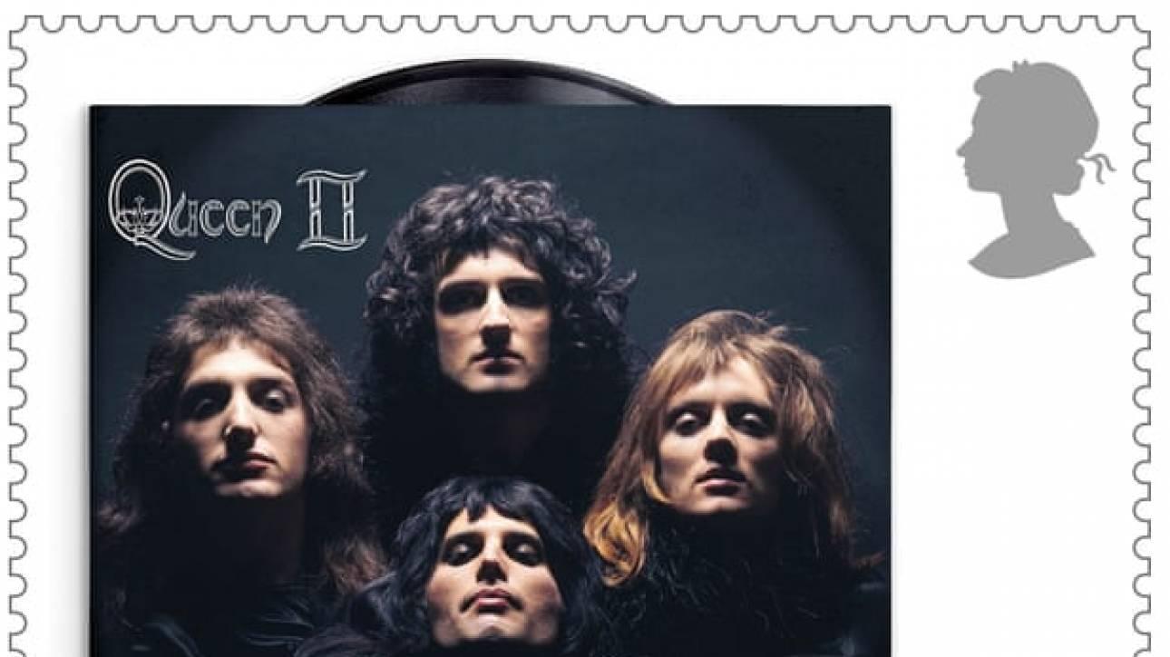 50 χρόνια Queen: Τα βρετανικά ταχυδρομεία βγάζουν σειρά γραμματοσήμων για το συγκρότημα
