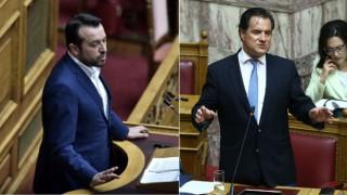 Έντονη αντιπαράθεση Γεωργιάδη - Παππά για τις αποκαλύψεις Παπαγγελόπουλου