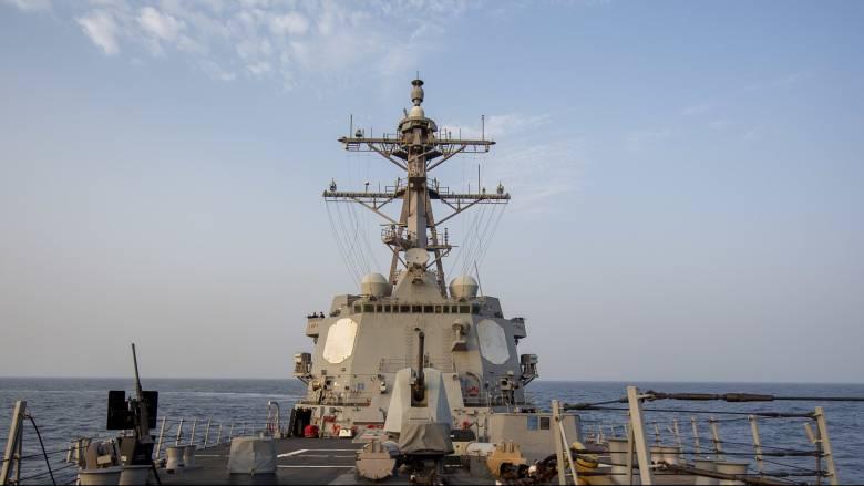 Επιχείρηση αμερικανικού πολεμικού πλοίου σε αμφισβητούμενα από τη Βενεζουέλα ύδατα