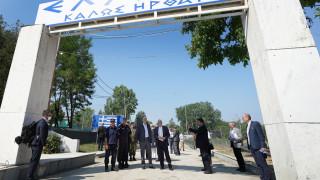 Επίσκεψη υψηλού συμβολισμού: Δένδιας – Μπορέλ στο Στρατιωτικό Φυλάκιο 1 στις Καστανιές