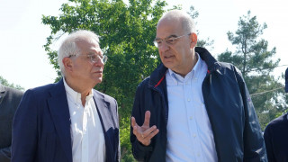 Mήνυμα Δένδια προς Τουρκία: Τα σύνορα της Ελλάδας είναι και σύνορα της Ε.Ε.