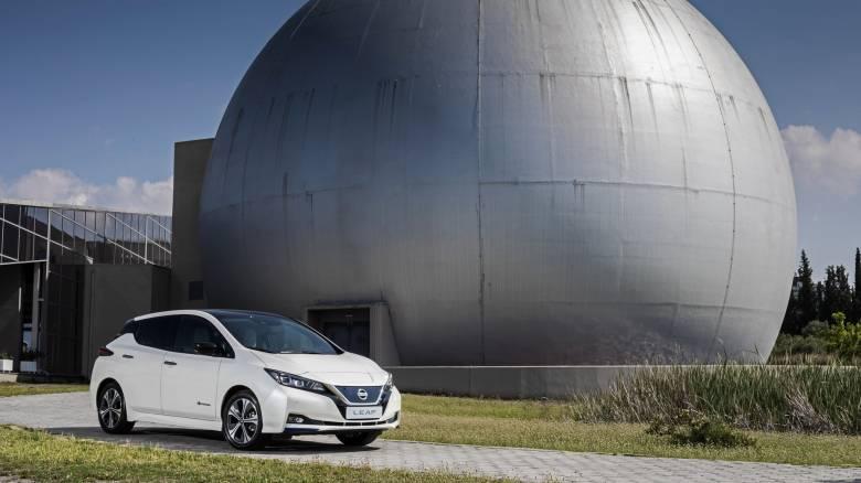 Το νέο Nissan LEAF δεν είναι μόνο πλήρως ηλεκτρικό - Είναι και ιδιαίτερα high tech