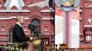 H μεγάλη στρατιωτική παρέλαση για την Ημέρα της Νίκης στη Ρωσία