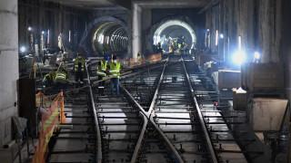Στις σήραγγες και στα εργοτάξια του Μετρό Θεσσαλονίκης ο Γ.Γ. Υποδομών