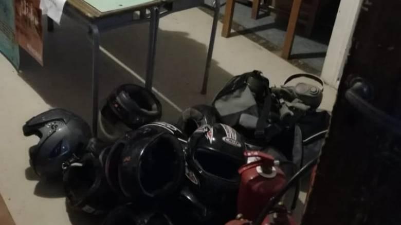 Αστυνομική επιχείρηση σε υπό κατάληψη κτήριο στα Εξάρχεια