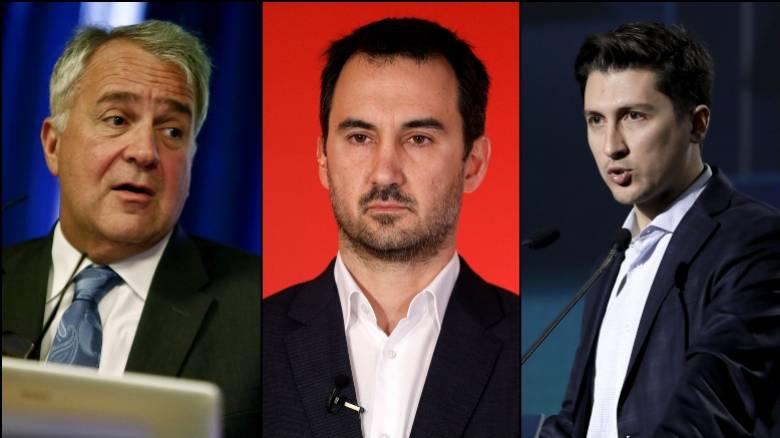 Βορίδης, Χαρίτσης και Χρηστίδης σχολιάζουν στο CNN Greece τις πολιτικές εξελίξεις
