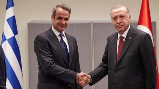 Επικοινωνία Μητσοτάκη - Ερντογάν: Συμφώνησαν να κρατήσουν ανοικτούς διαύλους επικοινωνίας