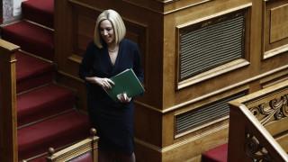 Γεννηματά: Ο ΣΥΡΙΖΑ δεν ήταν τελικά μόνο αυταπάτες, αλλά και απάτες