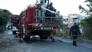 Φωτιά στη Βάρη - Μεγάλη κινητοποίηση της Πυροσβεστικής