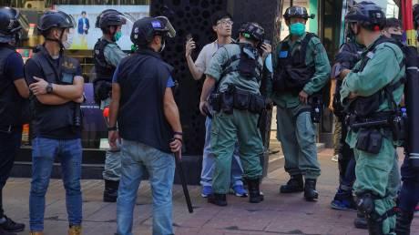 Χονγκ Κονγκ: Δεκάδες συλλήψεις διαδηλωτών μετά από συμπλοκές σε διαμαρτυρία