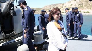 Σακελλαροπούλου: Η Ελλάδα δεν είναι διατεθειμένη να απεμπολήσει κυριαρχικά της δικαιώματα