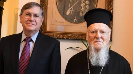 Τον Οικουμενικό Πατριάρχη επισκέφθηκε ο πρέσβης των ΗΠΑ στην Τουρκία