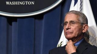 Κορωνοϊός – Φάουτσι: «Συνταγή καταστροφής» οι Αμερικάνοι που αψηφούν τις συστάσεις