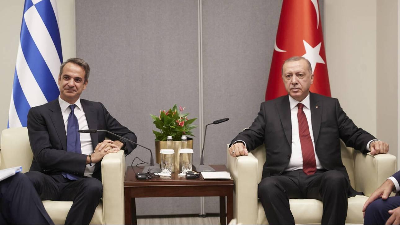 Το Στέιτ Ντιπάρτμεντ «χαιρετίζει» την τηλεφωνική επικοινωνία Μητσοτάκη - Ερντογάν