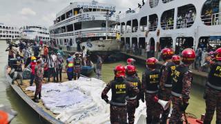 Nαυτικό δυστύχημα στο Μπαγκλαντές: Μέσα σε 20 δευτερόλεπτα πνίγηκαν τουλάχιστον 32 άνθρωποι