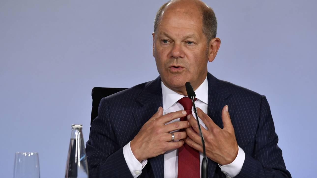 Υπέρ της γερμανικής οικονομικής βοήθειας για την Ευρώπη ο Σολτς