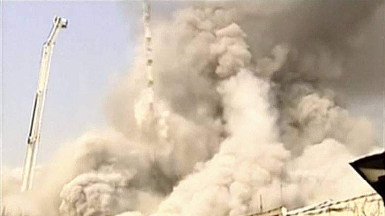Νεκροί και τραυματίες μετά από ισχυρή έκρηξη σε κλινική στην Τεχεράνη