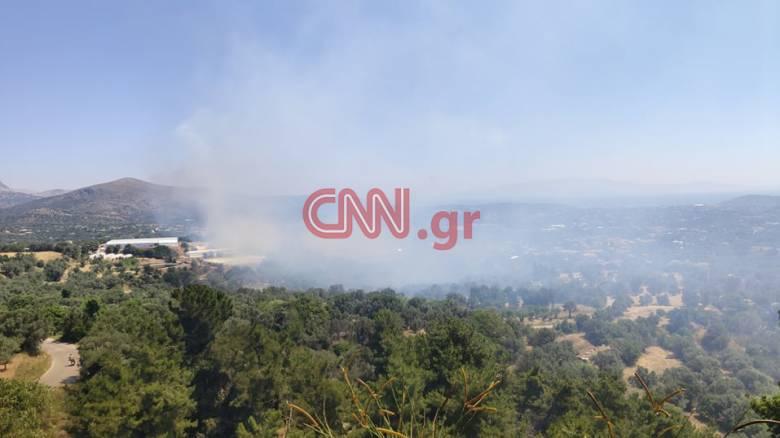Φωτιά στη Χίο - Σε ετοιμότητα για εκκένωση οικισμών