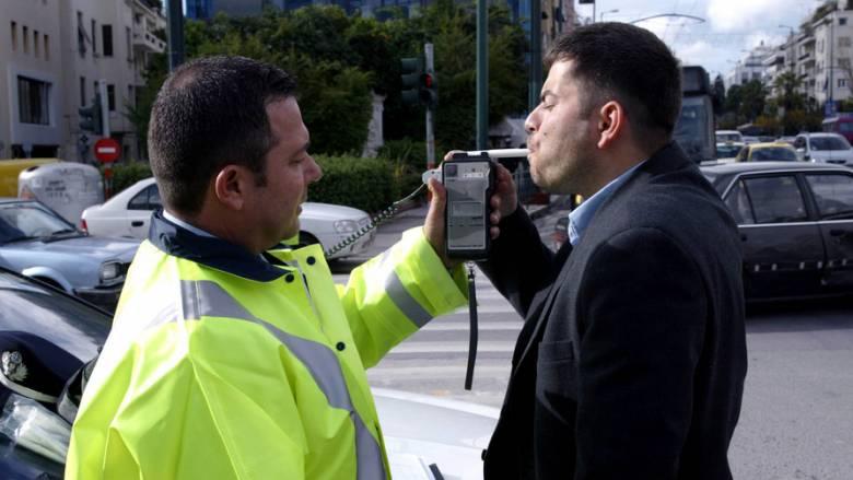 Σε ένα τριήμερο διαπιστώθηκαν 482 παραβάσεις για οδήγηση υπό την επήρεια αλκοόλ