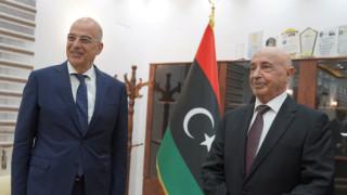 Δένδιας: Ιστορικές οι ευθύνες της Τουρκίας γι' αυτό που συμβαίνει στη Λιβύη