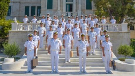 Απονομή Πτυχίων Αποφοιτησάντων Σχολής Ναυτικών Δοκίμων έτους 2020