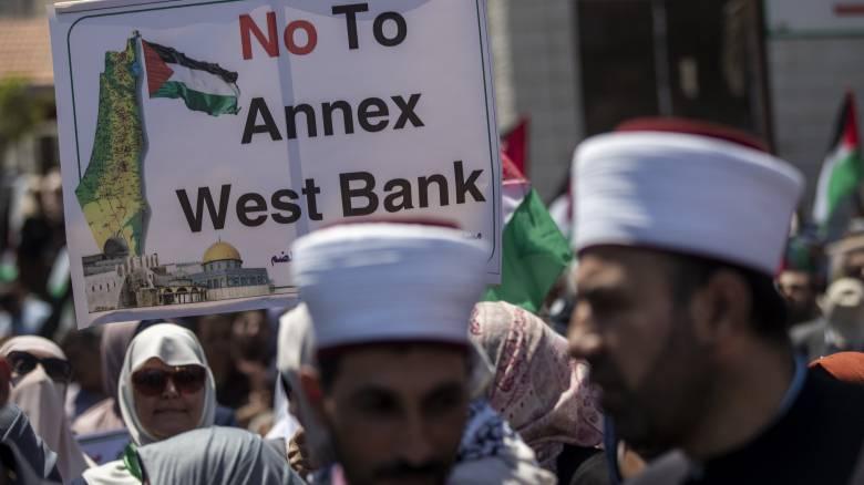 Γαλλία, Γερμανία και Βρετανία αντιτίθενται στην προσάρτηση της Δυτικής Όχθης στο Ισραήλ