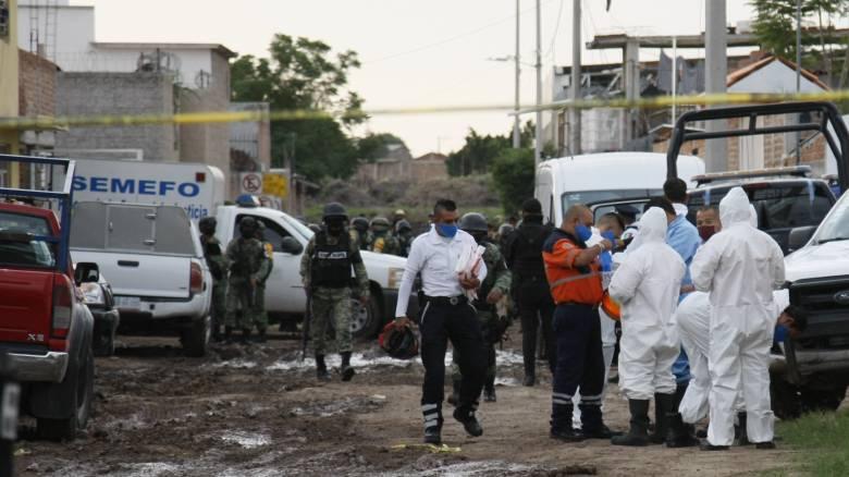 Μαζική δολοφονία στο Μεξικό: Τουλάχιστον 24 νεκροί σε κέντρο απεξάρτησης τοξικομανών