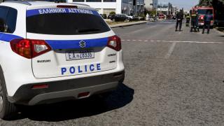 Αυτοκίνητο τυλίχθηκε στις φλόγες στο Γαλάτσι - Κυκλοφοριακό χάος στην περιοχή